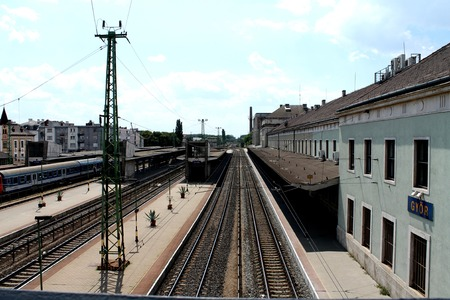 Soviet Era Train Station