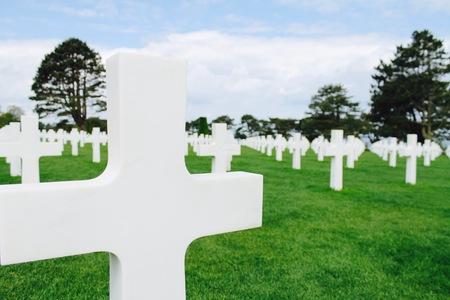 第二次世界大戦墓地 写真素材 - 86758896