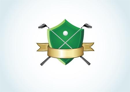 Golf logo Vector