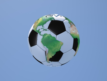 Soccerball_with_Globe_NS_America photo