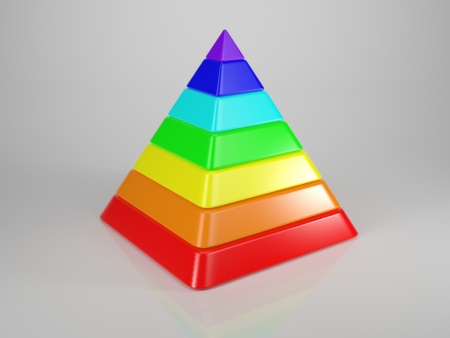 Pyramid out of Spectral Colours photo