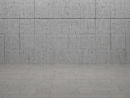 reflectivity: Room - Concrete and Slabs Stock Photo