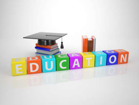 Education - Series Words out of Letterdices photo