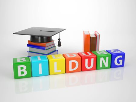Bildung - Series Words out of Letterdices photo