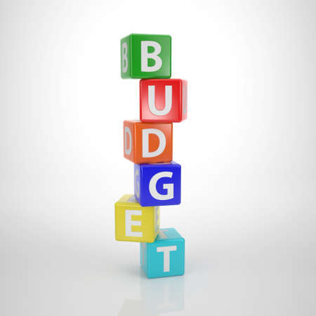 Budget Tower - Series Words out of Letter Dices photo