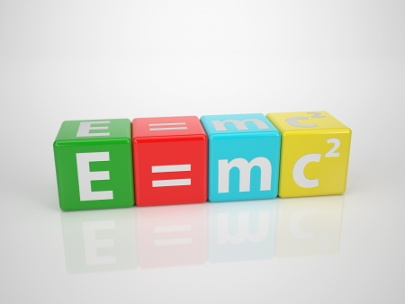 E=mc2 - Series Words out of Letterdices photo