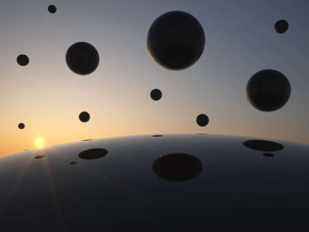 Sky full of Spheres photo