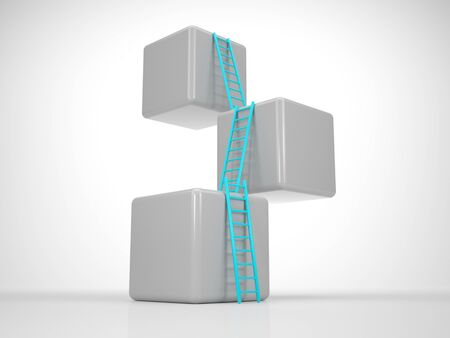 Tower out of Cubes - Reach your Goal photo
