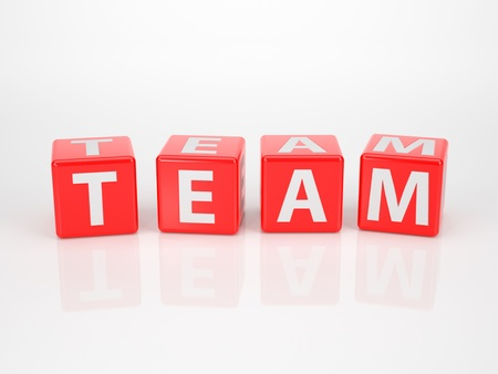 The Word Team out of red Letter Dices photo
