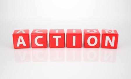 comité d entreprise: La Parole action sur Dices Red Letter Banque d'images