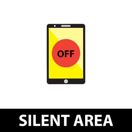 silent: Silent area, Turn off phone