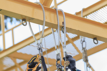 Rope access equipment