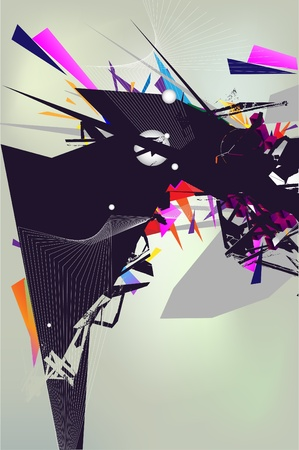 Аbstract composition Vector