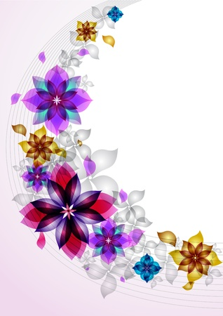 Background from beautiful colors Vector