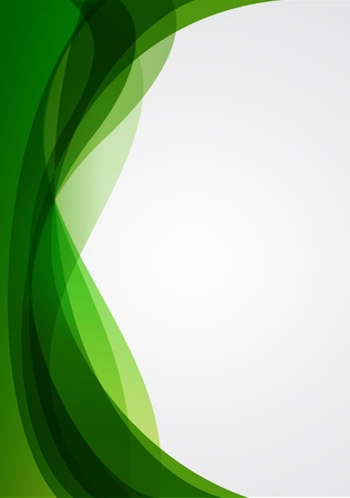 green power: Abstract background green Illustration