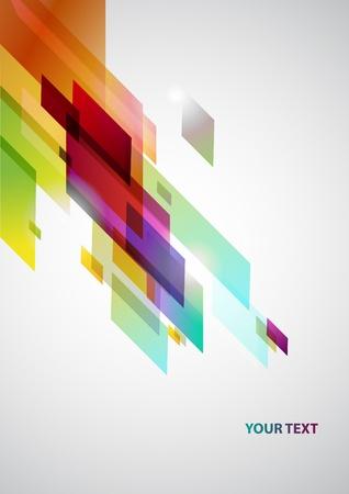 brillante: Abstract sfondo colorato Vettoriali