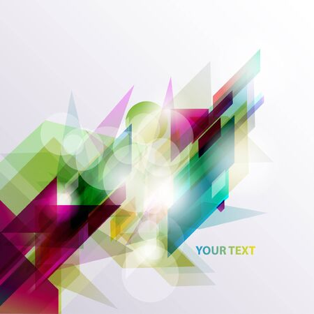 overlay: Abstract colorful background