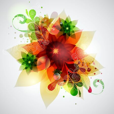 Floral background Stock Vector - 12918049