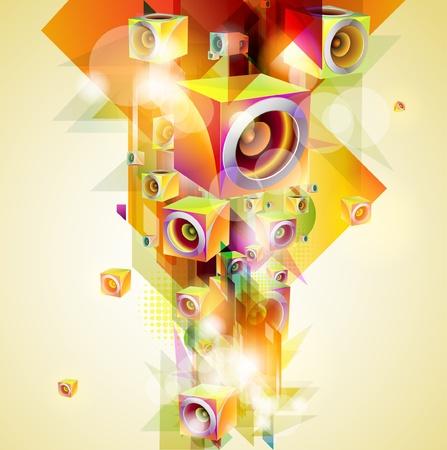 electronic music: Music background
