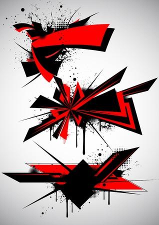 graffiti art: Urban graffiti
