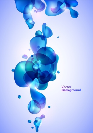 Abstraction water background Stock Vector - 12999478
