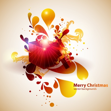 Christmas gift Stock Vector - 12999499