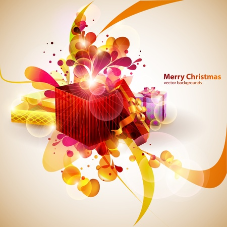 Christmas gifts  Stock Vector - 12999519