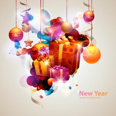 Christmas poster Stock Vector - 12999520
