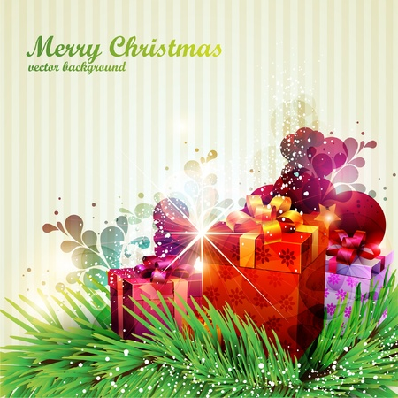 Christmas poster  Stock Vector - 13091708