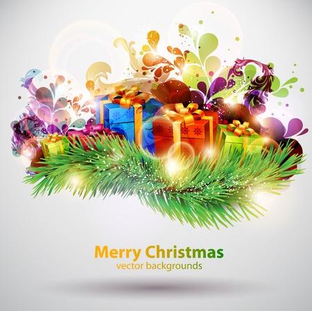 Christmas gifts Stock Vector - 13091699