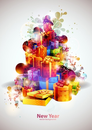 Mountain gifts  Vector