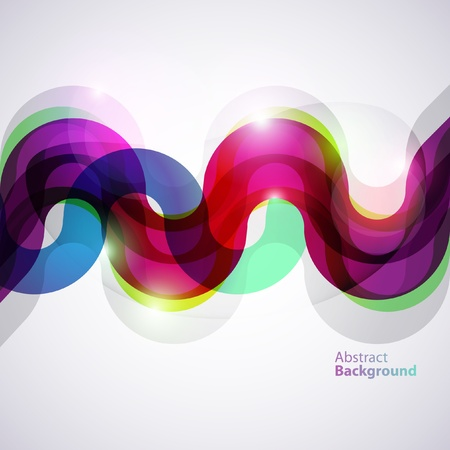 Abstract vector line Vector