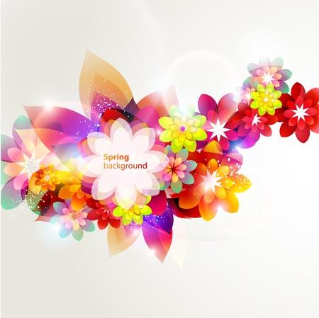 artistic flower: Flower composition