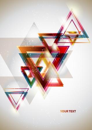 삼각형: 기하학적 인 도형의 배경