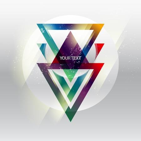 삼각형: 현대 기하학적 디자인