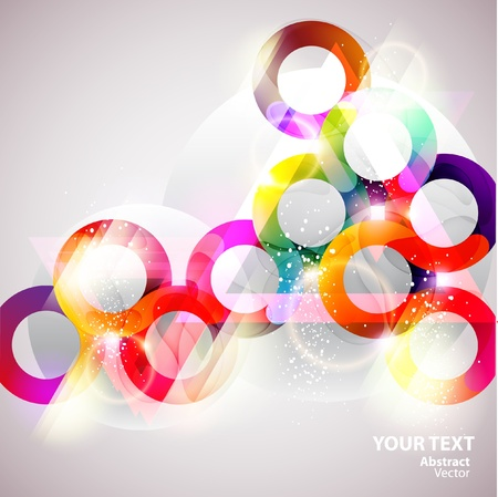 Kleurrijke bubbels Stock Illustratie