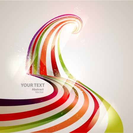 spectrum: Abstract vector line Illustration