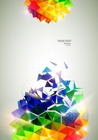 3D 다채로운 공 일러스트