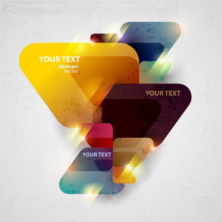 triangulo: Color de fondo abstracto