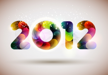 New year poster  Vector