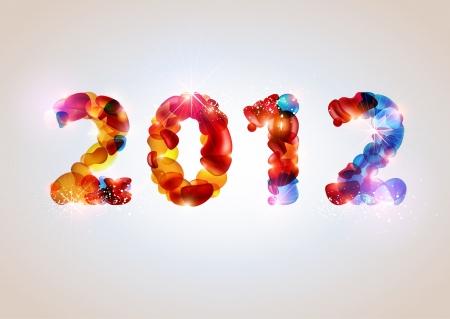 New year design Vector