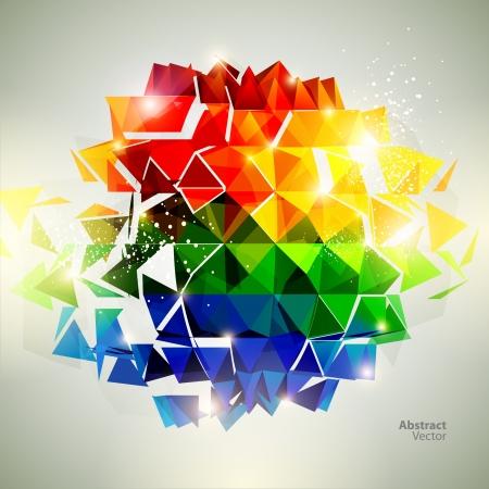 transform: 3D colorful ball