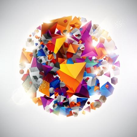 Colorful palla