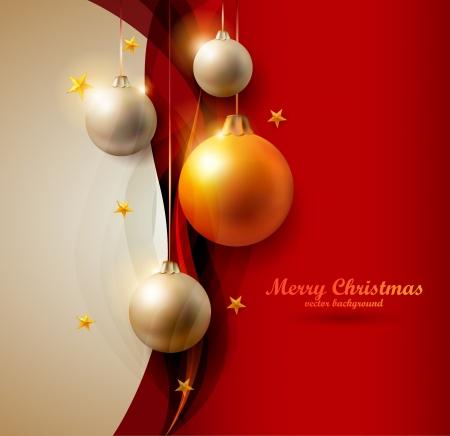 snowflake border: Christmas background