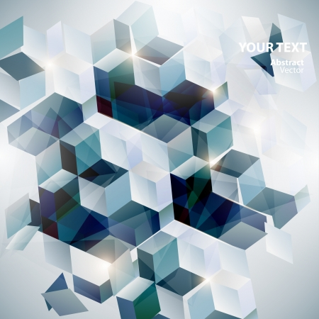 Abstract geometric background Stock Vector - 18412571