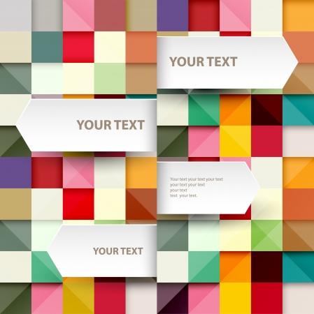 brochure layout: Modern Design Illustration