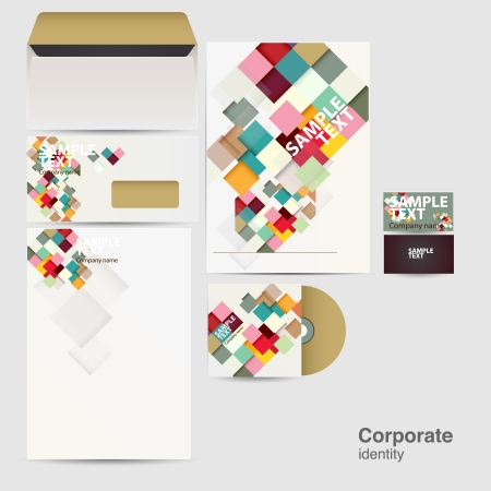 letter head: Corporate identity kit