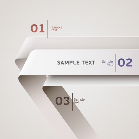 numbers abstract: Elements of infographics  Illustration