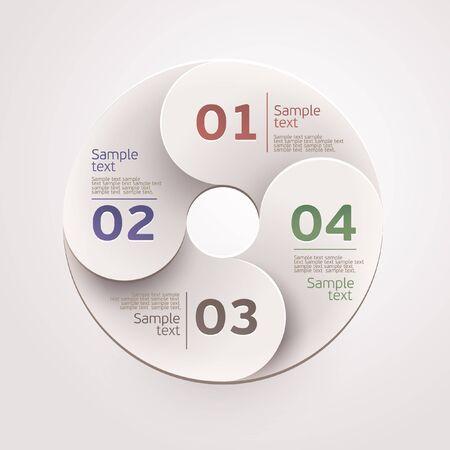 Design circle  Illustration