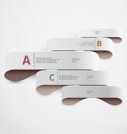 sample text: Modern design  Illustration